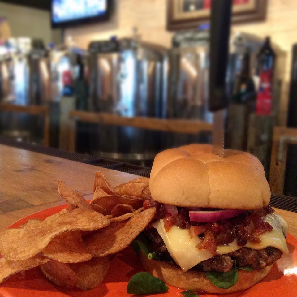 Brewery burger in Port Aransas | www.portaransastex.com
