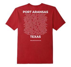 Port Aransas Landmarks T-shirt | www.portaransastex.com