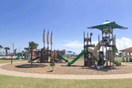 Playground at Roberts Point Park in Port Aransas | www.portaransastex.com