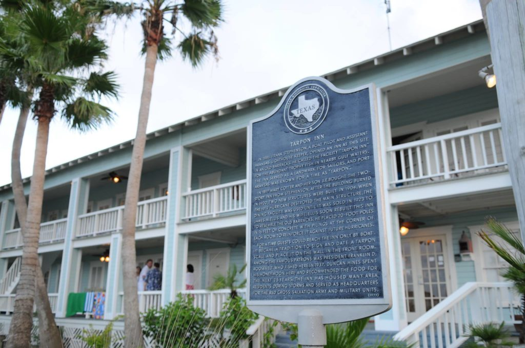 The Tarpon Inn in Port Aransas TX | www.portaransastex.com