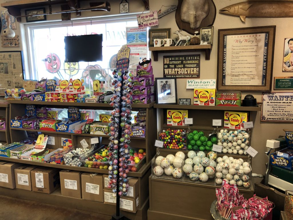 Winton's Island Candy in Port Aransas TX | www.portaransastex.com