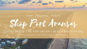 Shop Port Aransas group on Facebook