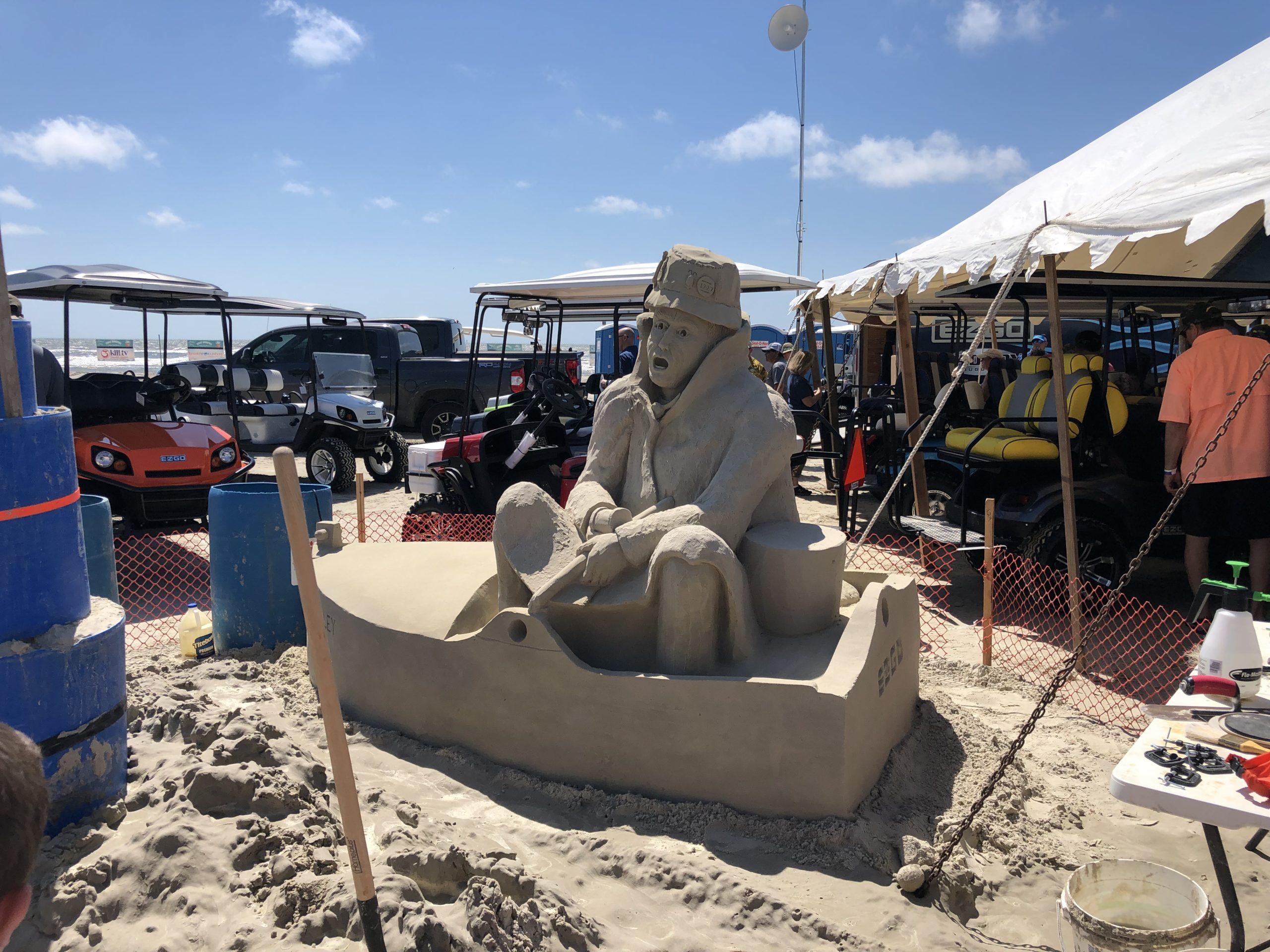 Texas SandFest in Port Aransas | www.portaransastex.com