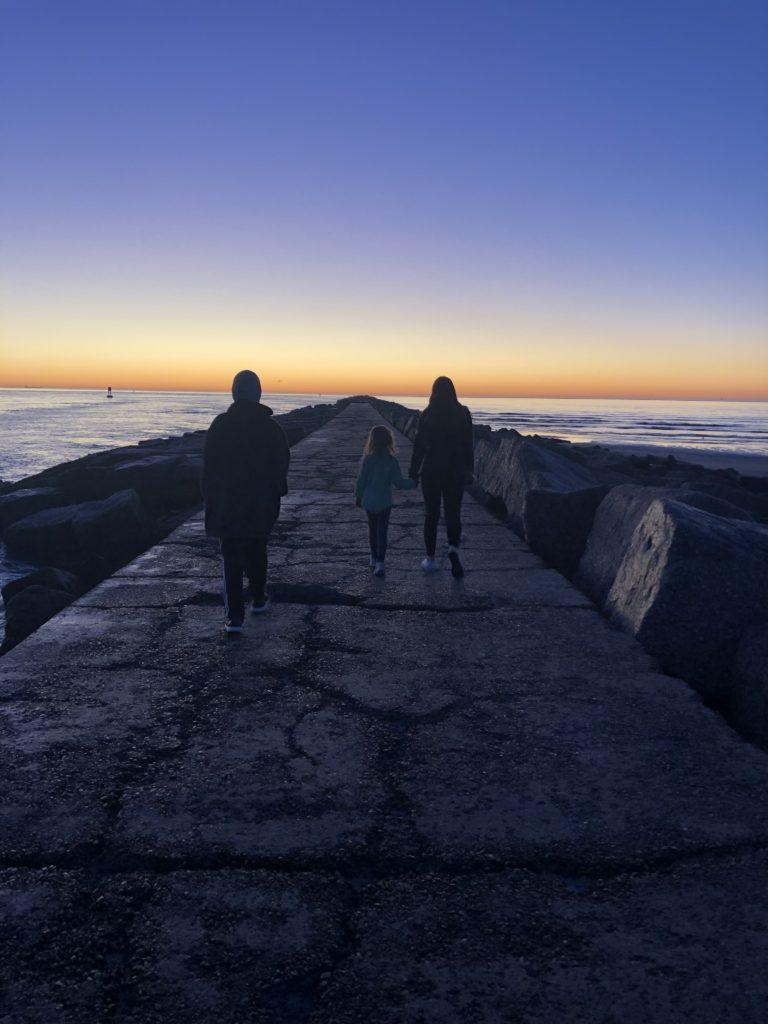 Sunrise at the Jetty | www.portaransastex.com
