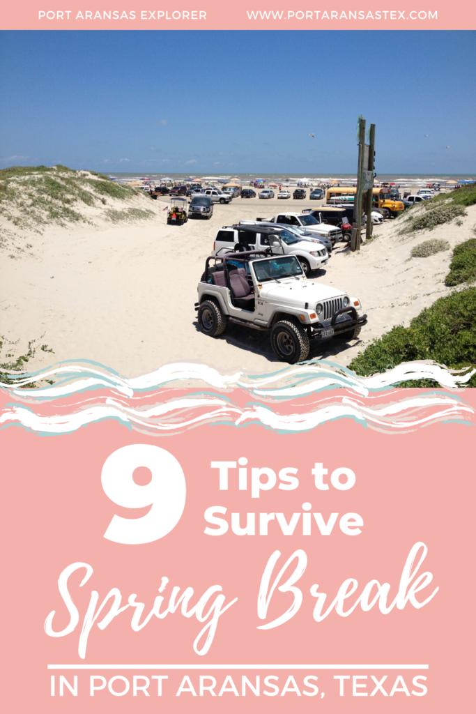 9 Tips to Survive Spring Break in Port Aransas | www.portaransastex.com
