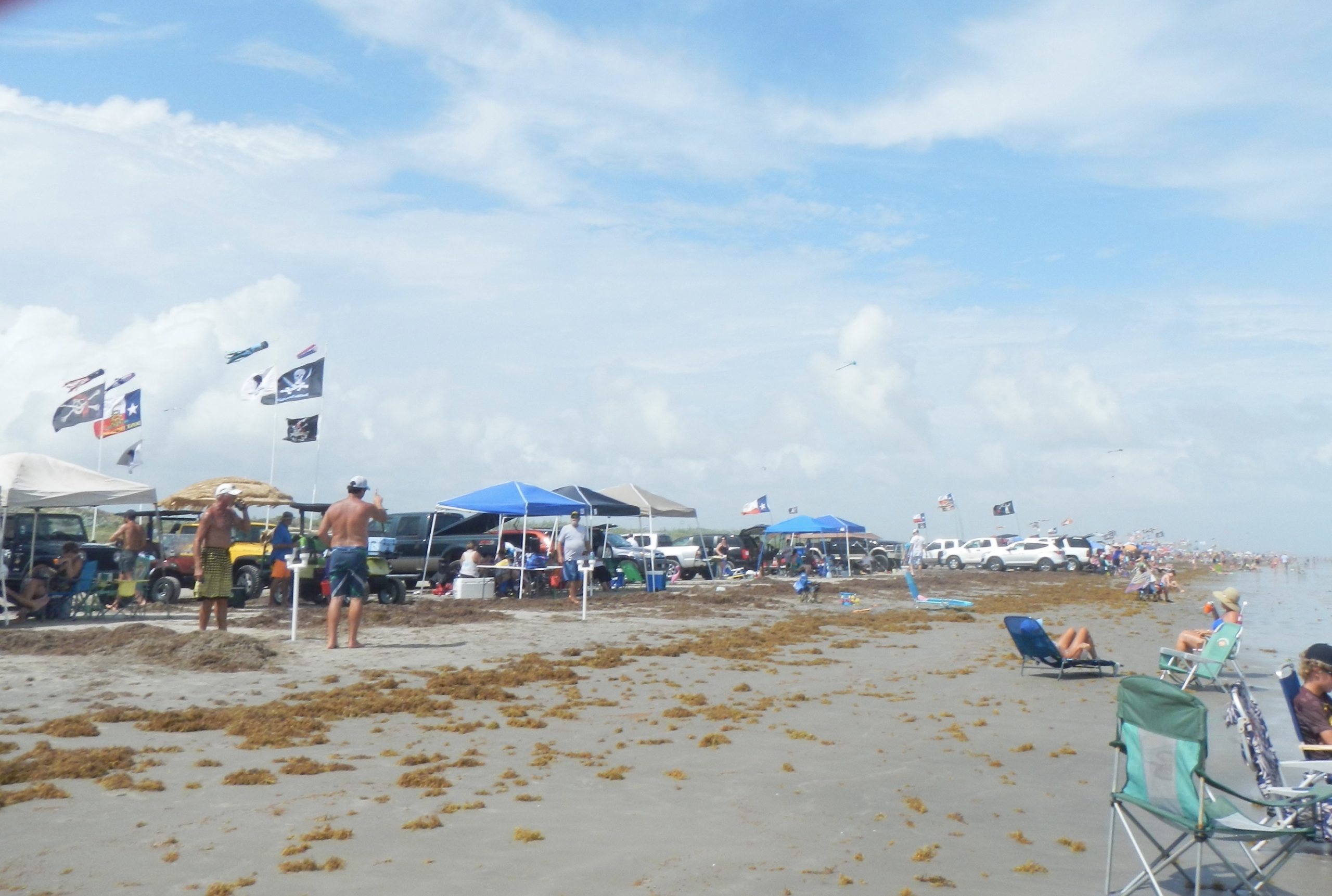 Beach in Port Aransas | www.portaransastex.com