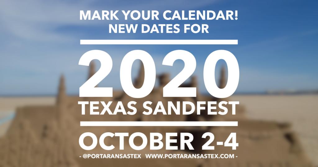 Texas SandFest 2020 | www.portaransastex.com
