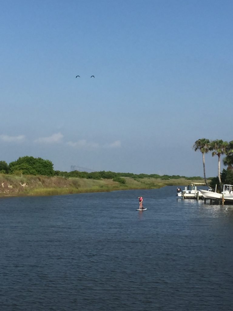 Stand up paddle boarding in Port Aransas | www.portaransastex.com
