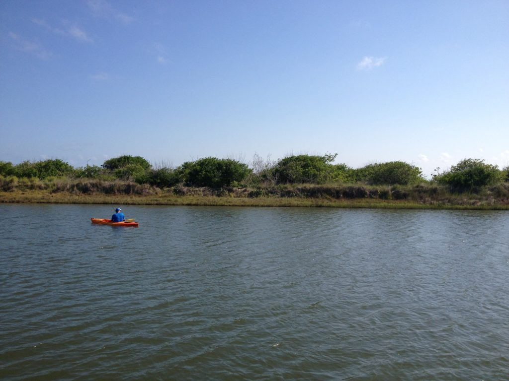 Kayaking in Port Aransas | www.portaransastex.com