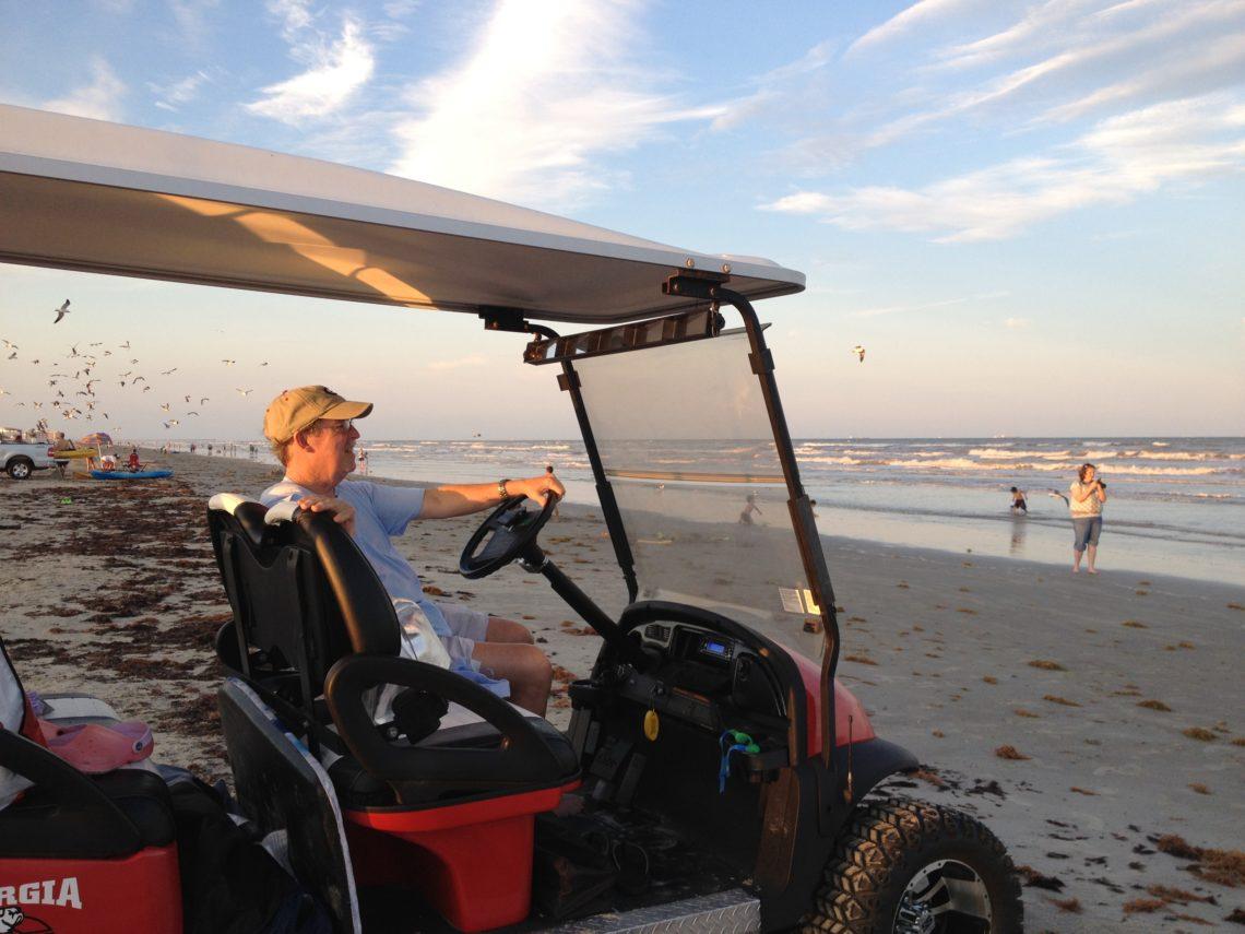 Golf Beach Cart Rentals in Port Aransas TX | www.portaransastex.com