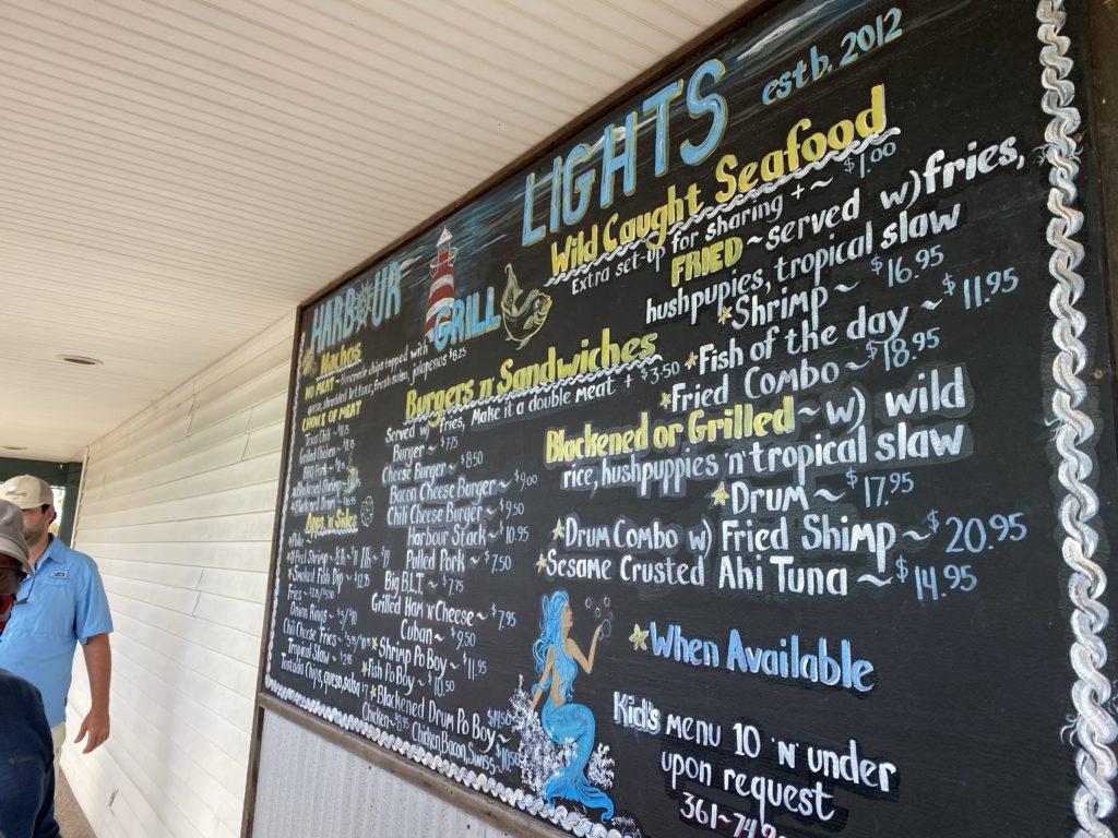 Harbor Lights Grill | Port Aransas Explorer