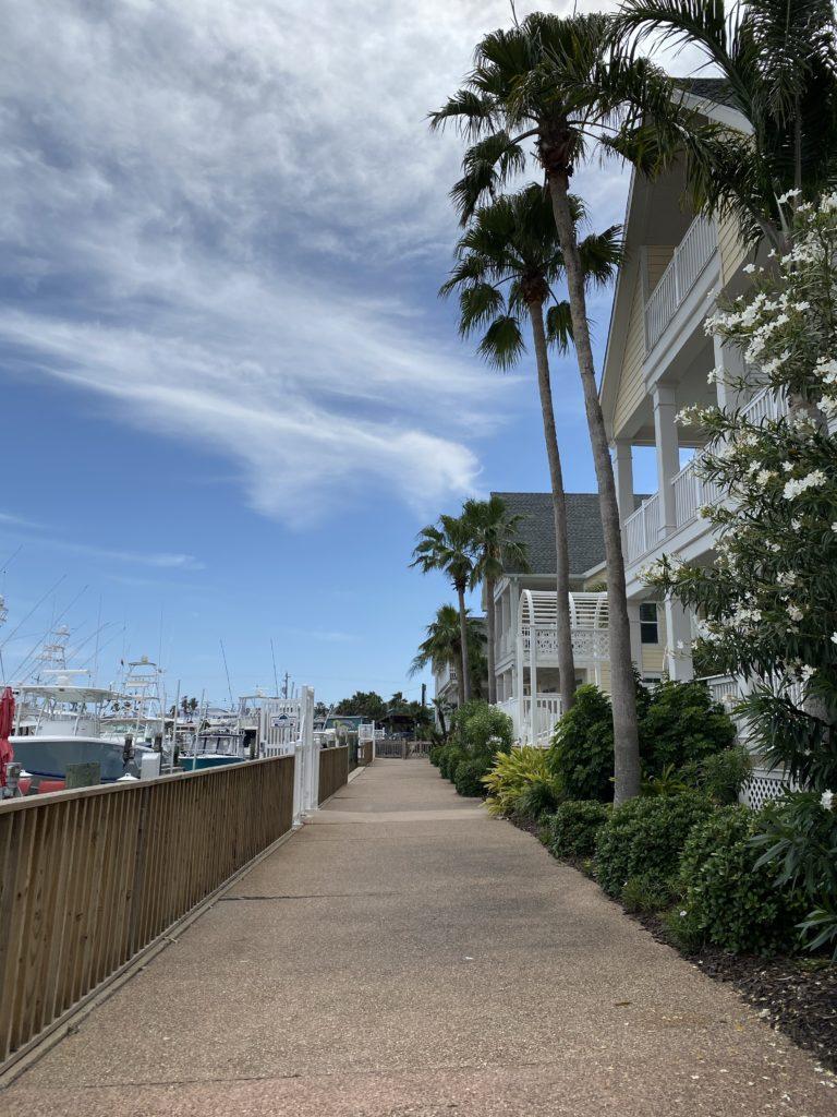 Outside Harbor Lights Grill & Back Porch Bar | Port Aransas Explorer