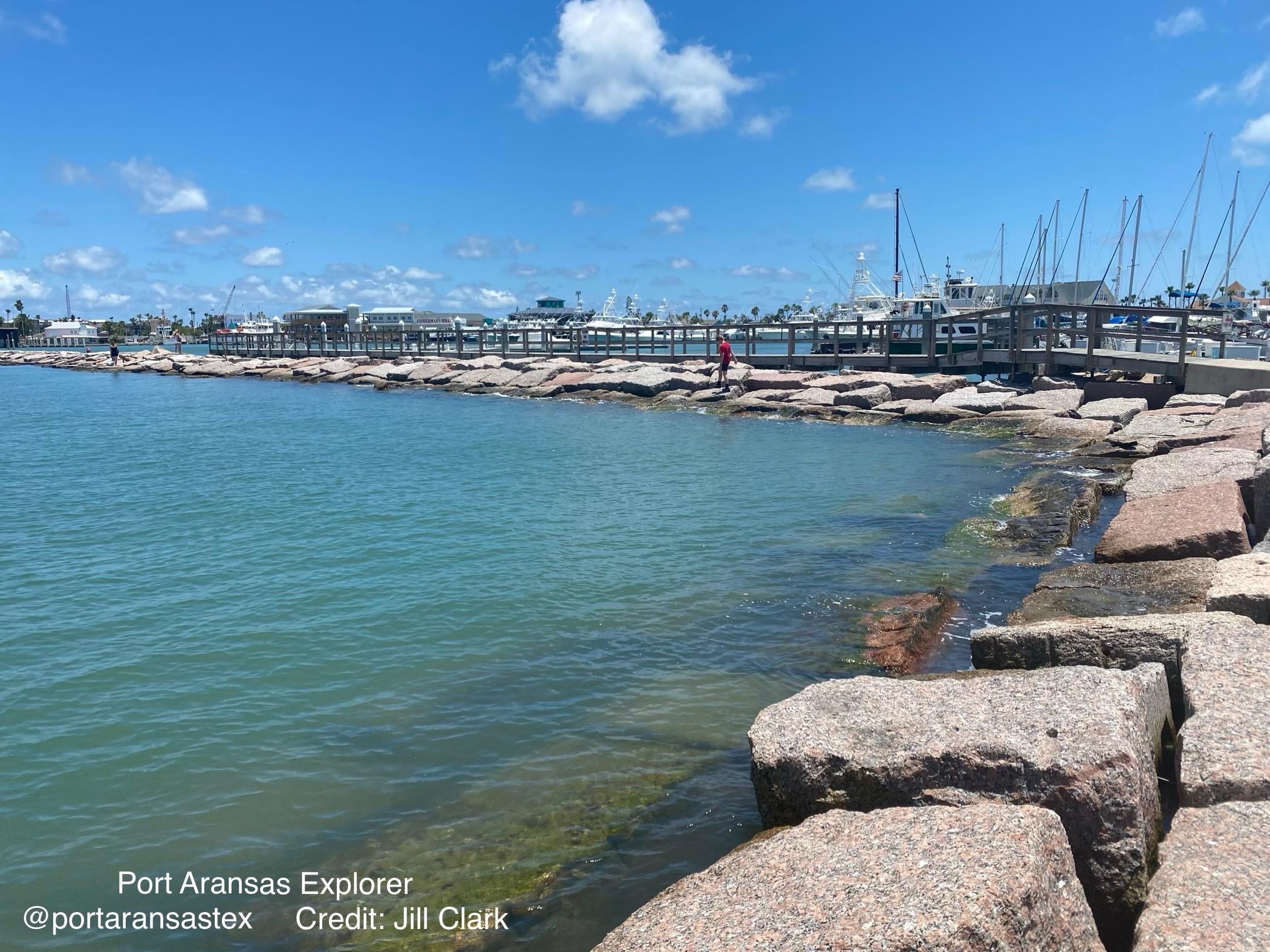 Port Aransas marina | www.portaransastex.com