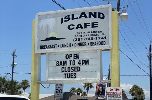 Island Cafe in Port Aransas TX | www.portaransastex.com