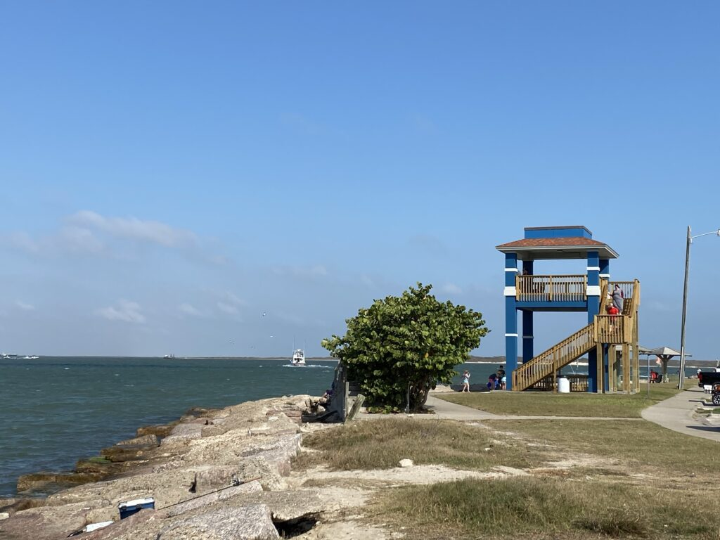Keeler Observation Tower | Port Aransas Explorer